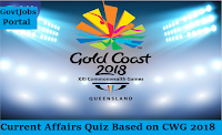 current affairs quiz on CWG 2018