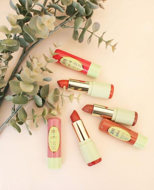Pixi, Pixi Beauty, Lipsticks, Lipbalm, Beauty, Beauty blogger, Bblogger, Christmas gift ideas