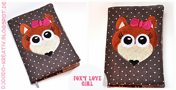 Stickdatei Foxy Love