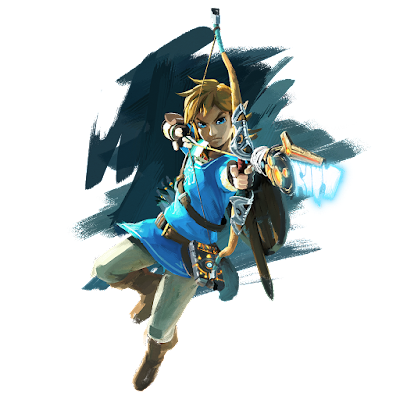 Link The Legend of Zelda Wii U NX official artwork bow