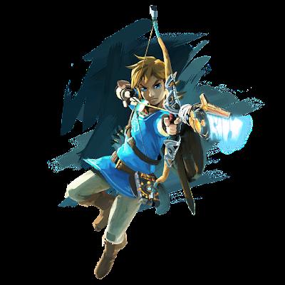 Link The Legend of Zelda Wii U NX official artwork bow