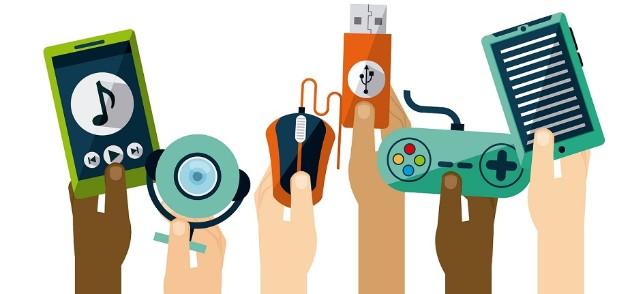 many tech gadgets