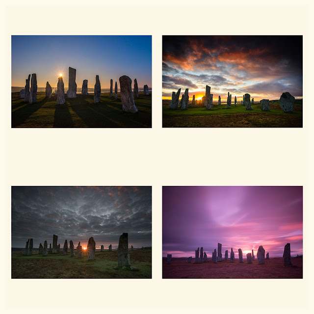 Callanish Standing Stones at Sunrise and Sunset