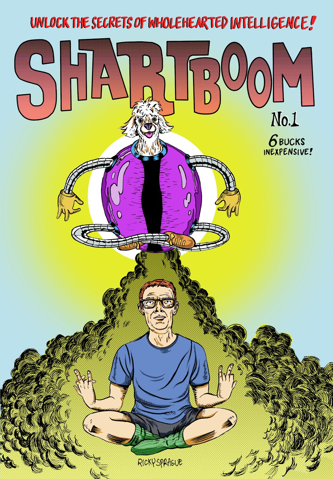 SHARTBOOM No 1 available now!