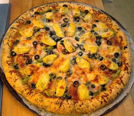 Super Supreme Pizza Recipe
