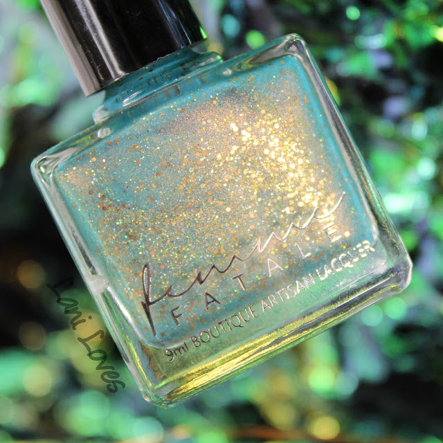 Femme Fatale A Fortune Teller's Charm Nail Polish Swatches & Review