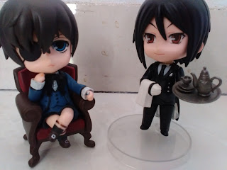 Weekly Blog Challenge - ciel and sebastian nendoroid