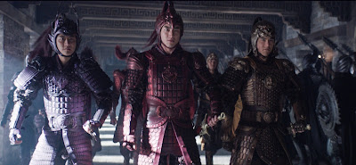 Eddie Peng, Xuan Huang and Kenny Lin in The Great Wall (2)