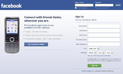 m facebook login