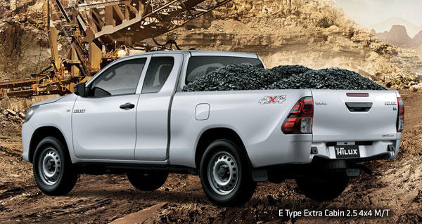 exterior all new toyota hilux extra cabin