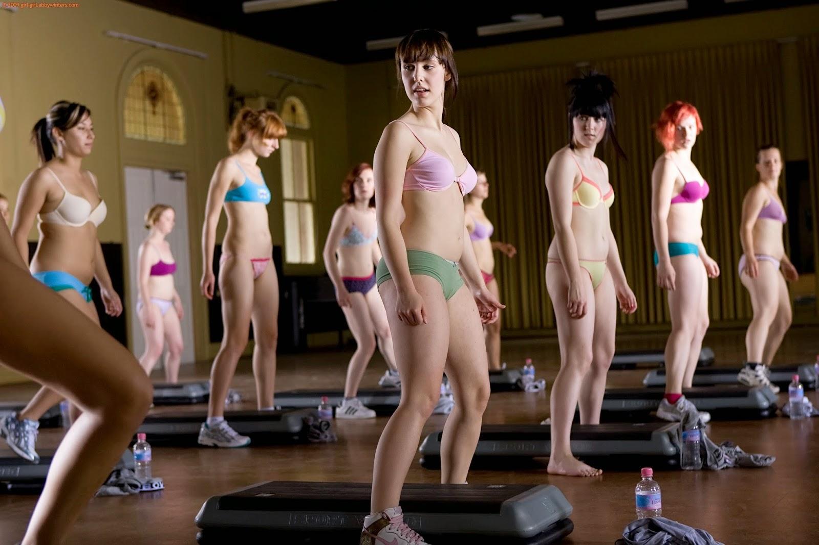 Abby Winters Nude Aerobics 80