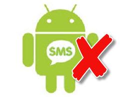 hp android tidak bisa mengirim sms