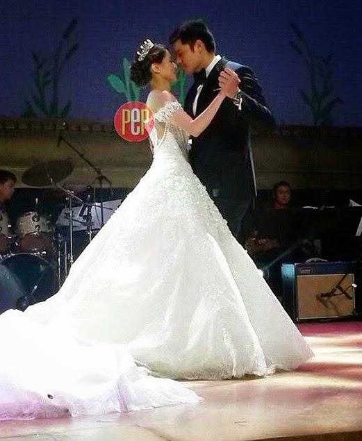 Gambar Perkahwinan DingDong Dantes Dan Marian Rivera ...
