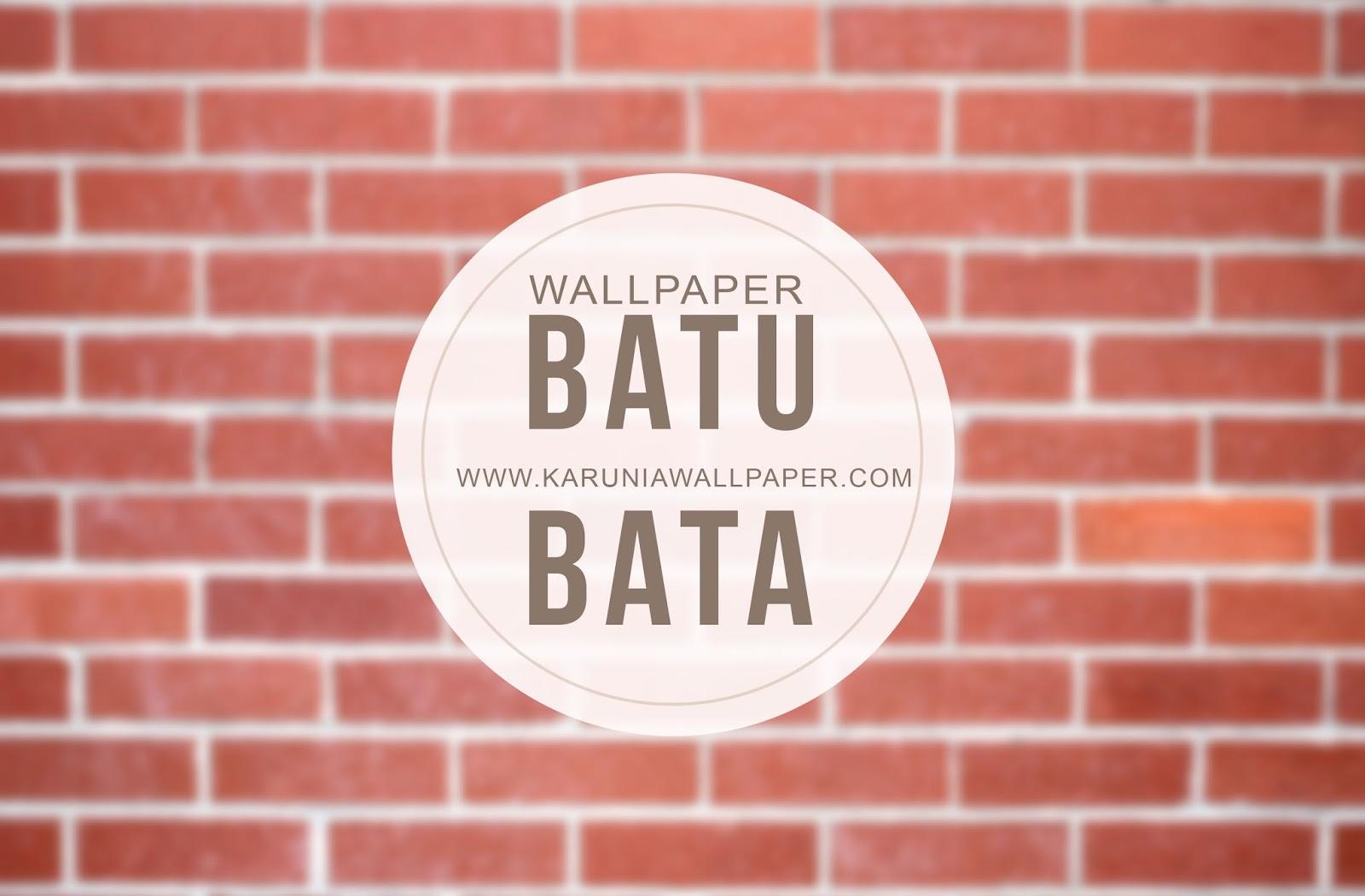 jual wallpaper dinding batu bata surabaya