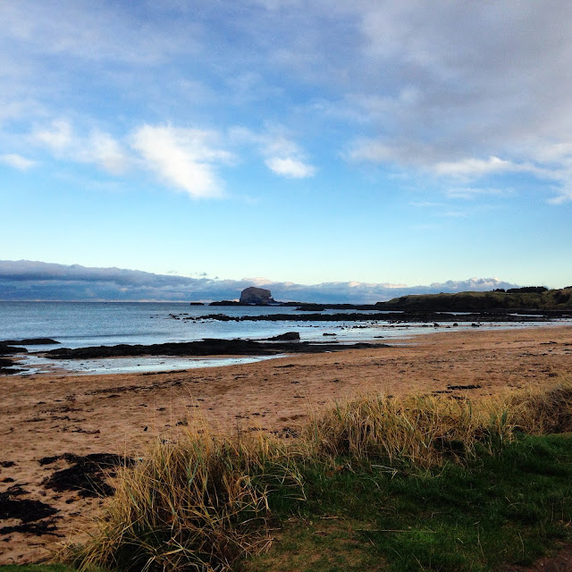 Get out of the house - North Berwick Beach