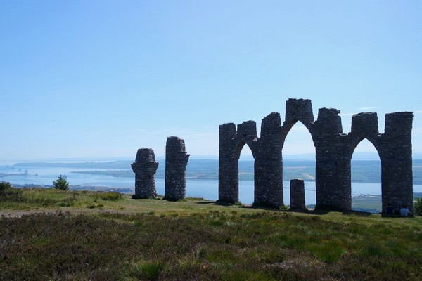 écosse north coast 500 road trip rando alness fyrish monument