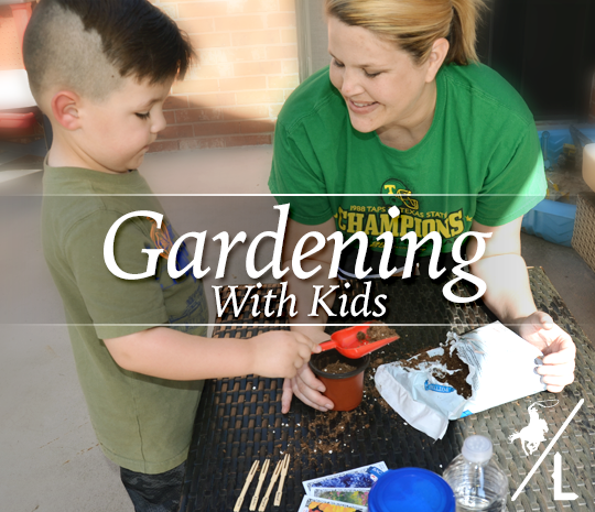 how to create a kids garden
