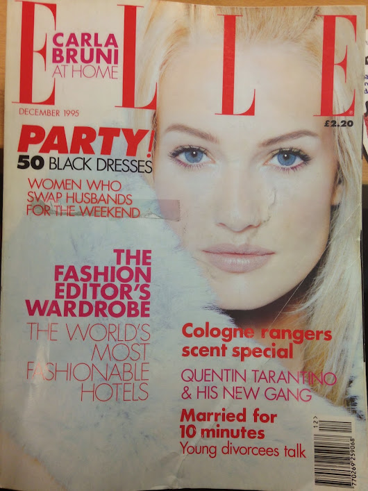 Research and Archiving - Elle Magazine DEC' 95