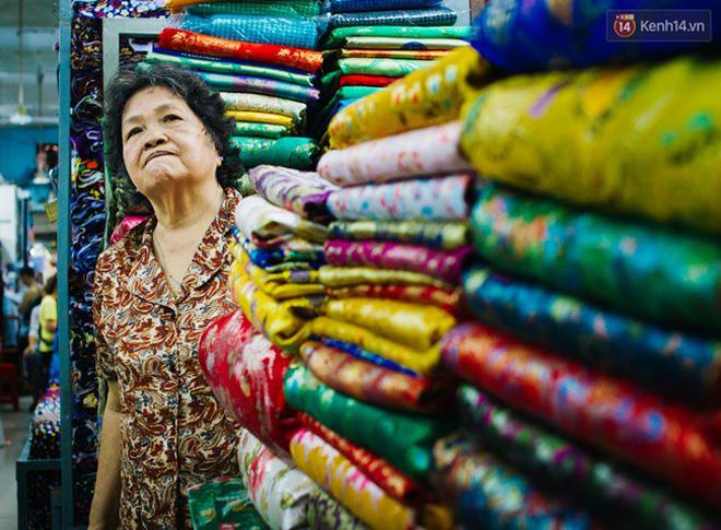 Hình ảnh chợ vải Soái Kình Lâm ở TPHCM