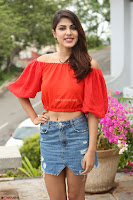 Rhea Chakraborty in Red Crop Top and Denim Shorts Spicy Pics ~  Exclusive 056.JPG