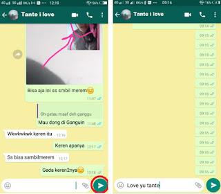 Trik mengirim pesan kosong di whatsapp dan membuat status kosong