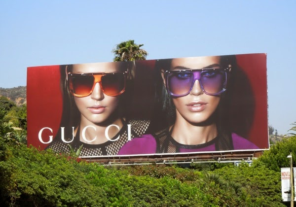 Gucci sunglasses Spring 2014 billboard