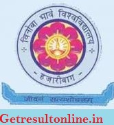 Vinoba Bhave University Result