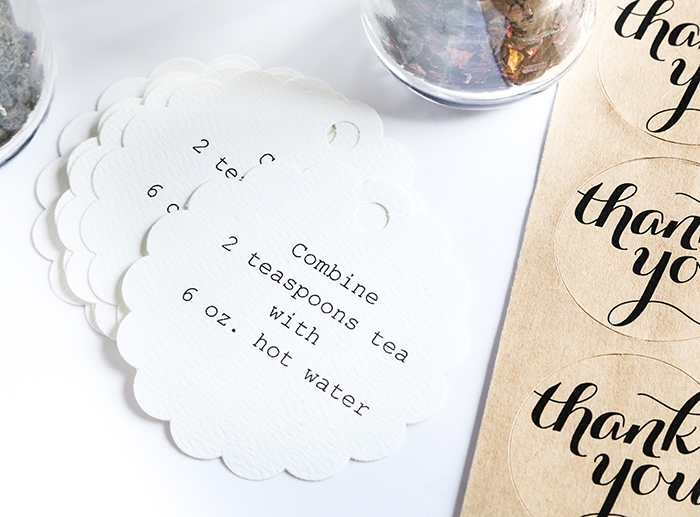 Diy Custom Wedding Tea Favors For The Etsy Blog Sprinkle Bakes