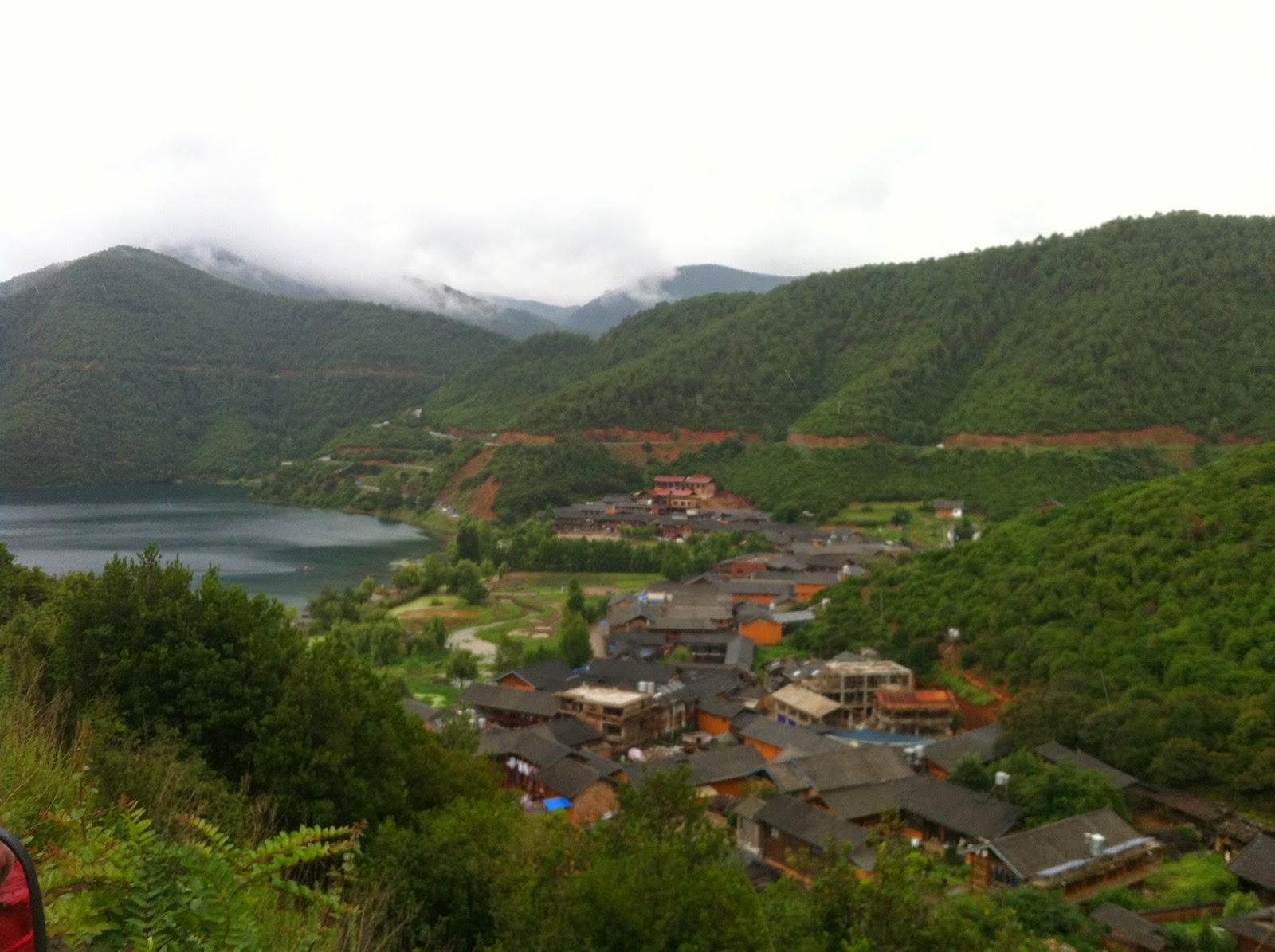 Lige Village in Lugu Lake