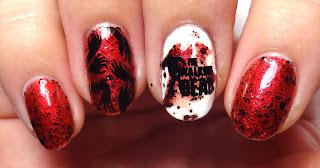 The Walking Dead Nail Art