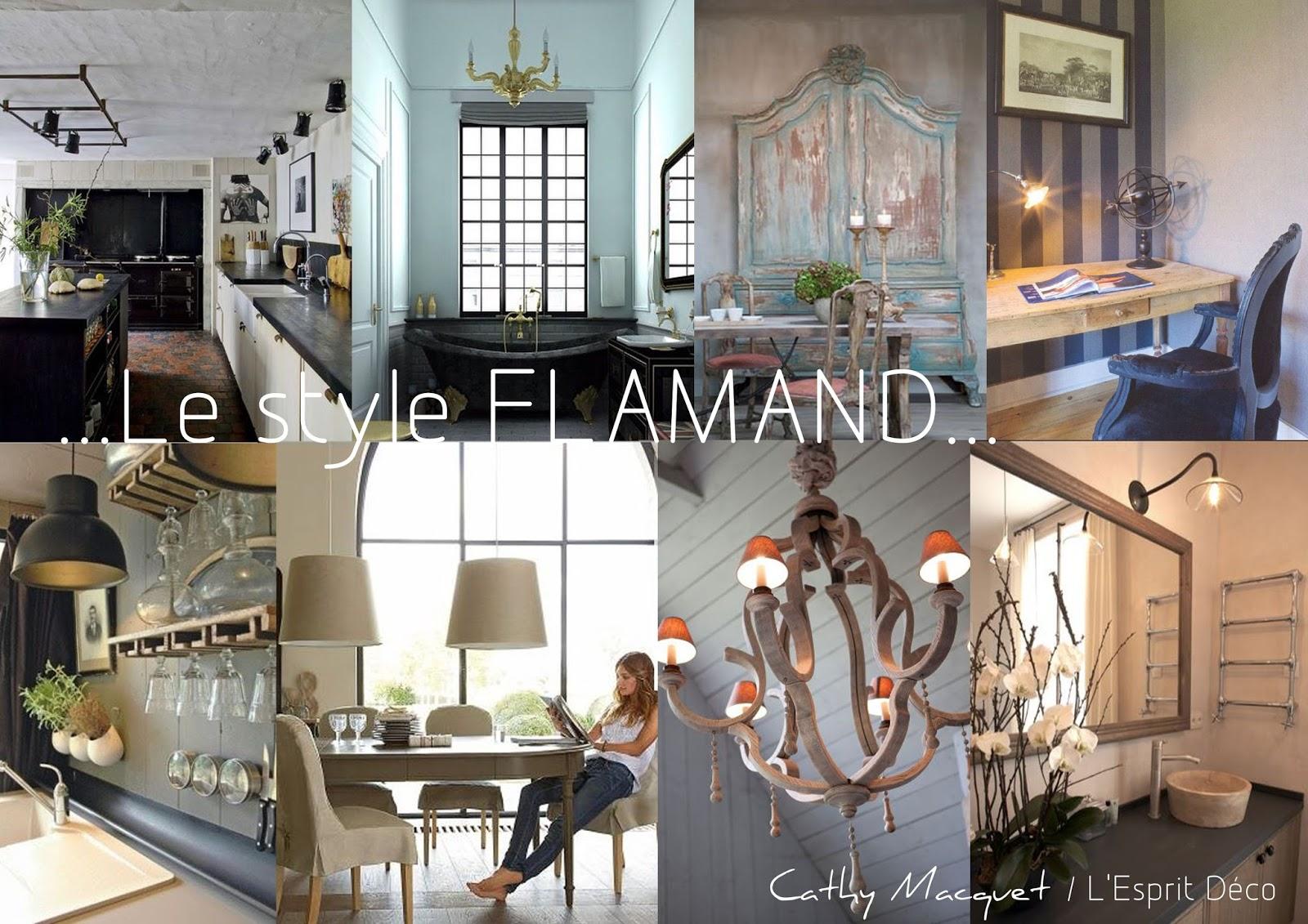 Cathy macquet l 39 esprit d co le style flamand l for Decoration flamande