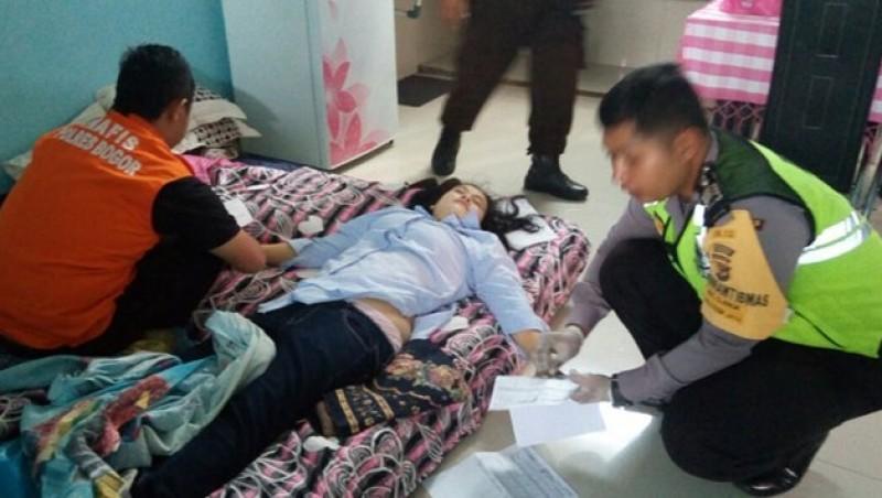 Kondisi Indria Kameswari saat ditemukan tewas