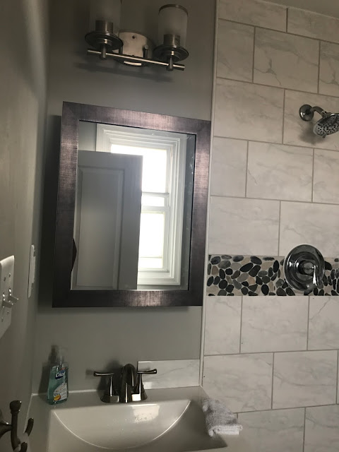 Glacier Bay Medicine Cabinet Mirror Framed Recessed Mounted