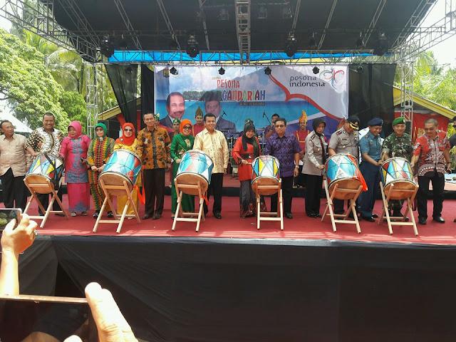 Festival Gandoriah 2016 Resmi Dibuka Gubernur Sumbar