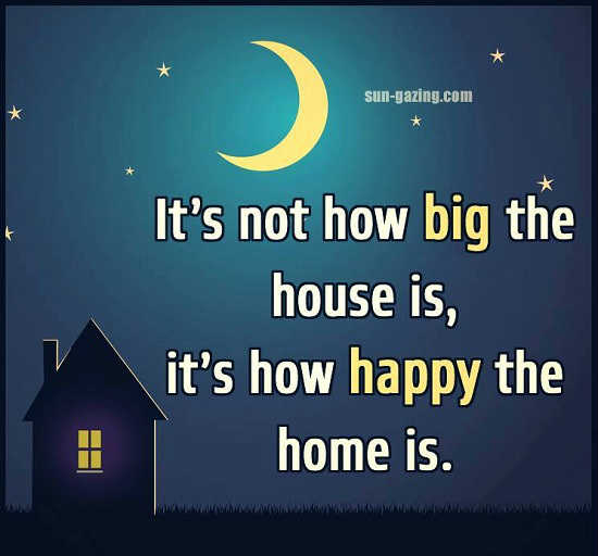 Home Is Not A Place It's A Feeling.