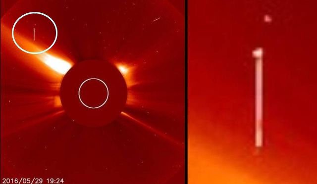 UFO News ~ Enormous starship appears next to the sun plus MORE Ufo%2Bsun%2Banomaly%2Baliens%2B%25282%2529