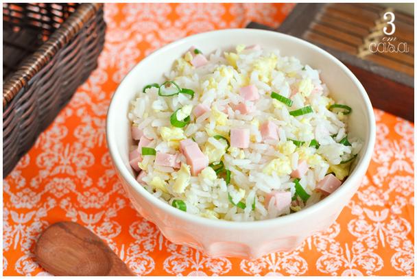receita arroz primavera