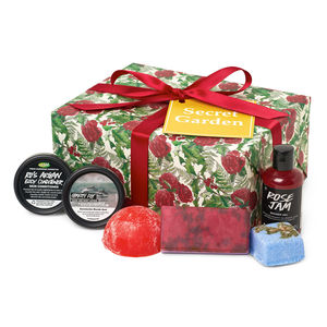 sets de navidad lush chile