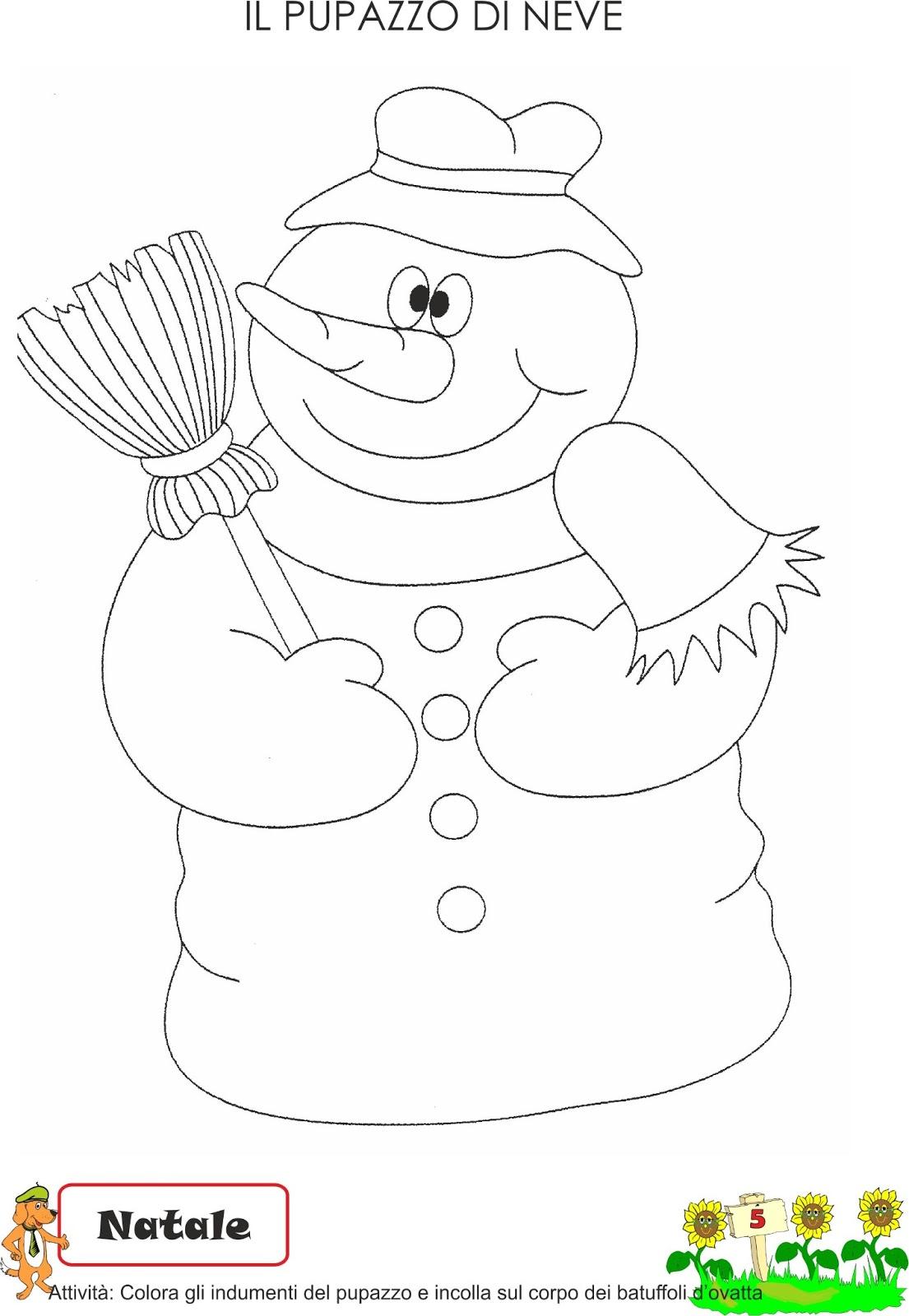 A scuola con poldo schede didattiche inverno for Schede didattiche scuola infanzia 3 anni