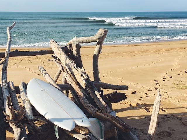 Lunch break in December by Surfin Estate