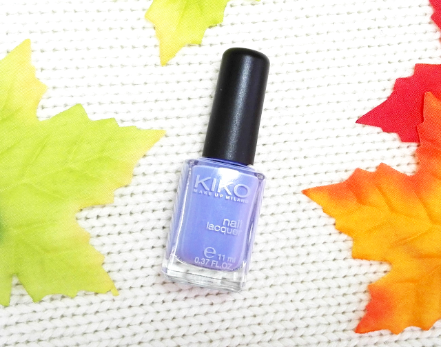 New In #16 Kiko Nail Lacquer 338 Light Lavender