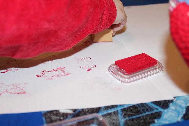tampons pour colorier