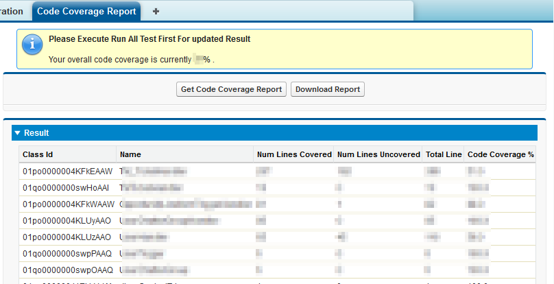 Simplysfdc App: Code Coverage Report