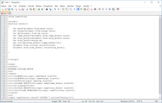 Program hitung sederhana dengan javascript