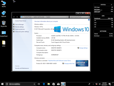 Windows 10 Black 1709 Fall Creators x64 by KIRK