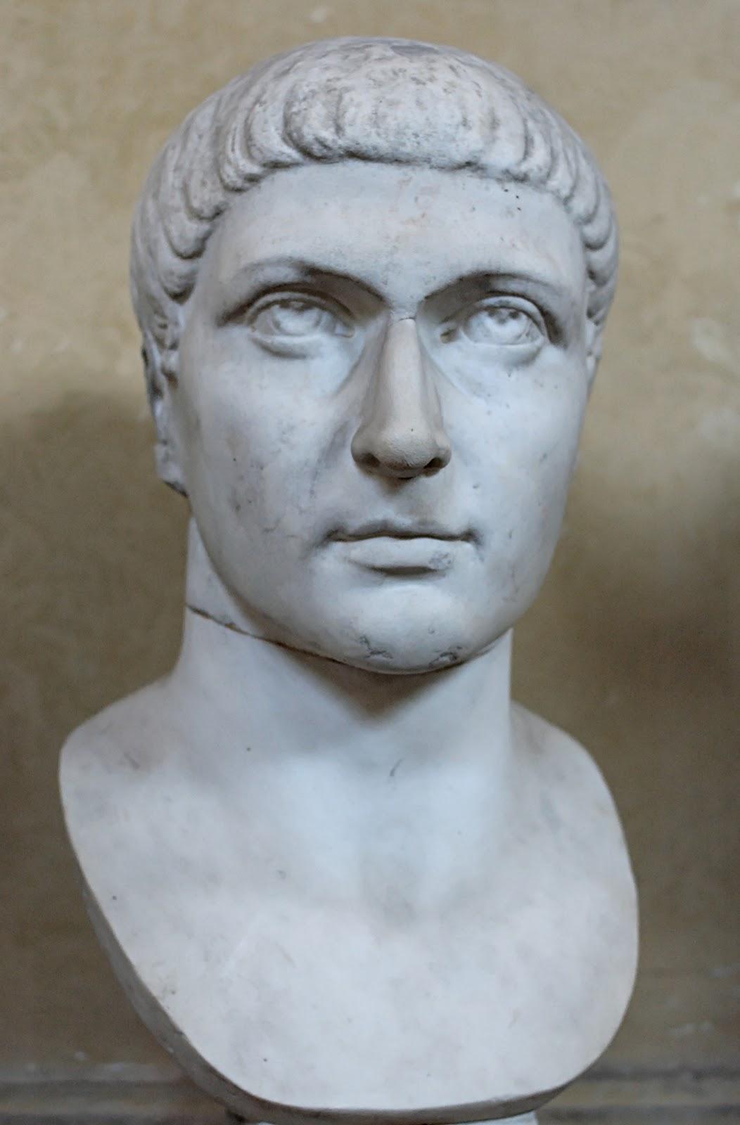 コンタンティヌス大帝の胸像