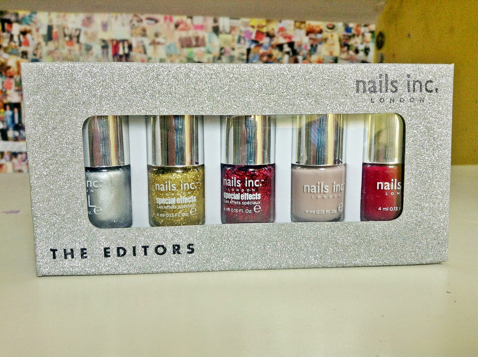 nails inc. the editors collection