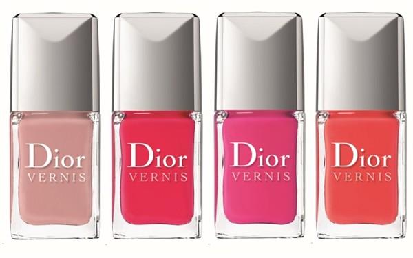 Prettypinkdaisy Dior Nail Polishes 257 Incognito 659 Lucky
