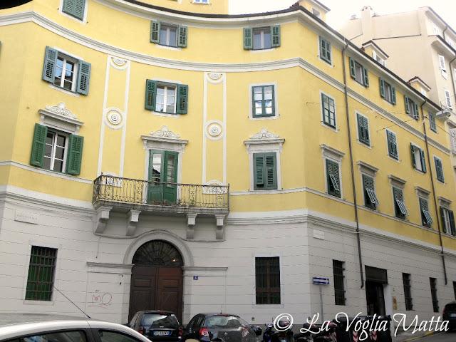 Piazza della Valle a Trieste