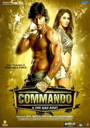 Commando 2013 Full Hindi Movie Download DVDRip 720p